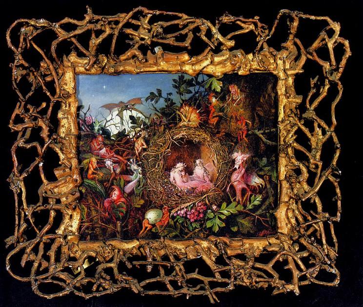 Fitzgerald-John-Anster-Fairies-In-A-Birds-Nest